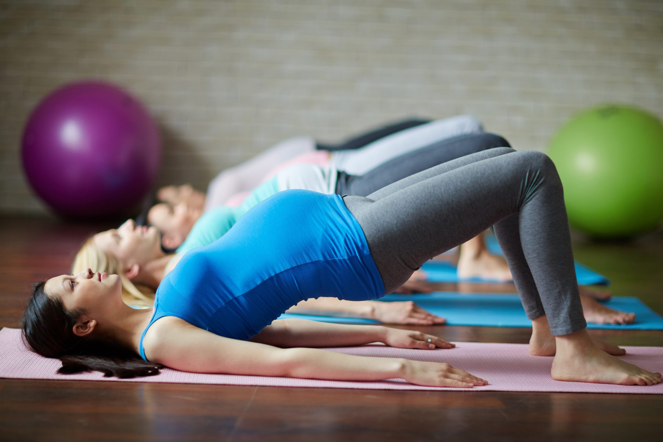 pregnancy fitness class